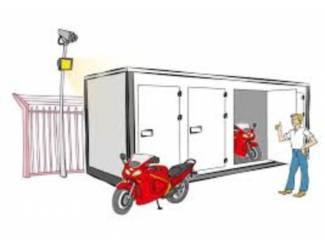 Motorstalling Huren - Salland Storage