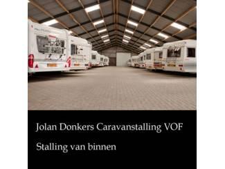 Nette caravanstalling, vouwwagen, botenstalling