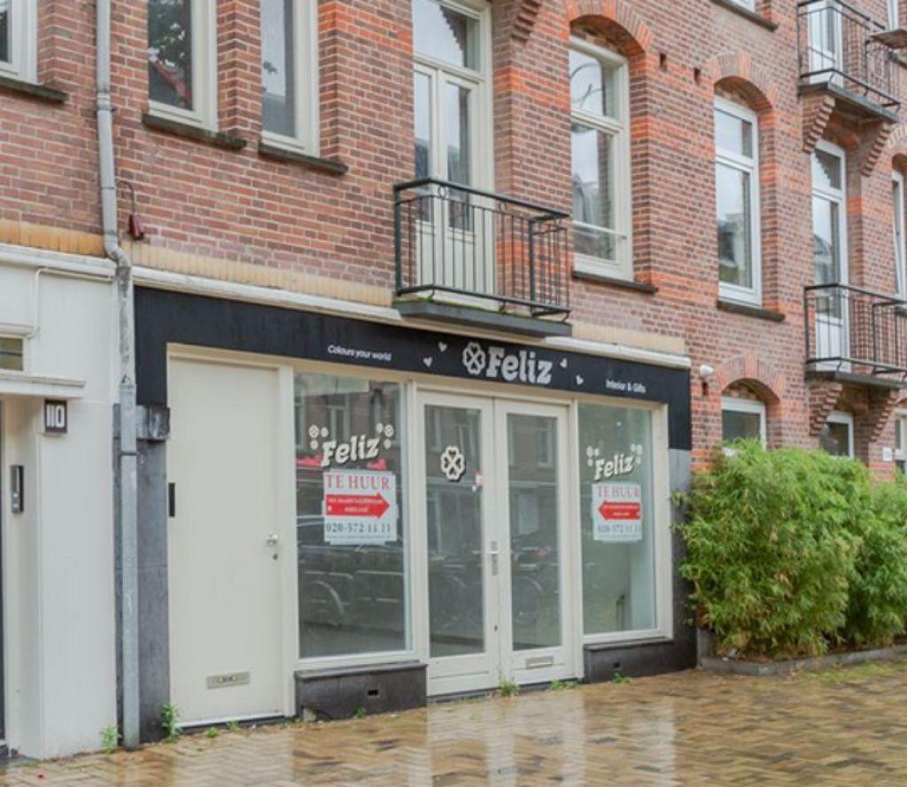 Winkelpand (tijdelijk/Pop-up) te huur hippe Javastraat Amsterdam